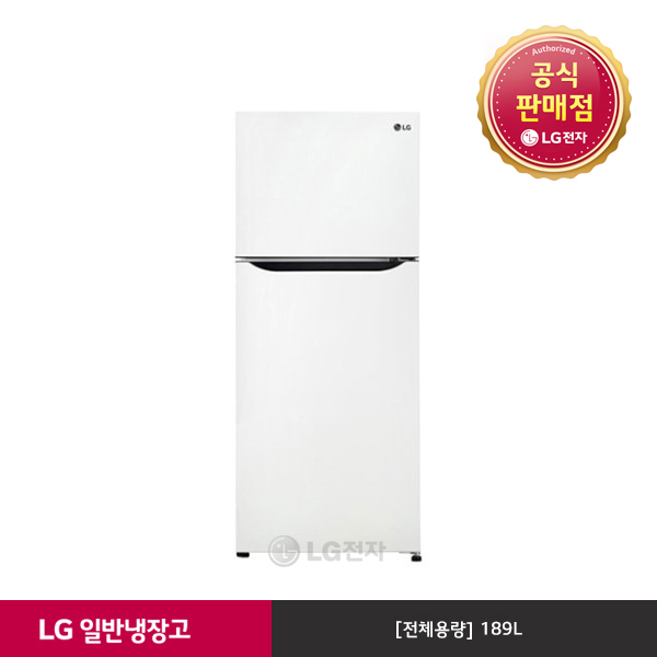 LG전자 [공식인증점][LG전자][LG]일반냉장고 B187WM, 단일상품