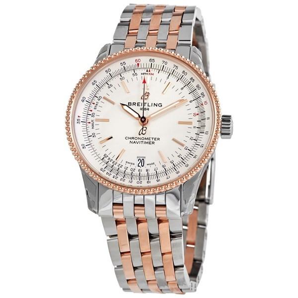 Navitimer Automatic Chronometer Silver Dial Men's Watch U17325211G1U1