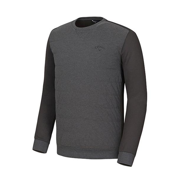 캘러웨이 [캘러웨이]남성 앞판 우븐 라운드 티셔츠 CMTRI4164-193