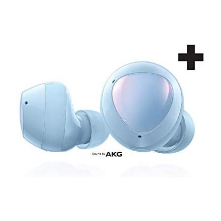 Samsung Electronics 삼성 갤럭시 버즈 플러스 진정한 무선 이어버드(충전 케이스 포함) 클라우드 블루, 상세 설명 참조0, One Color