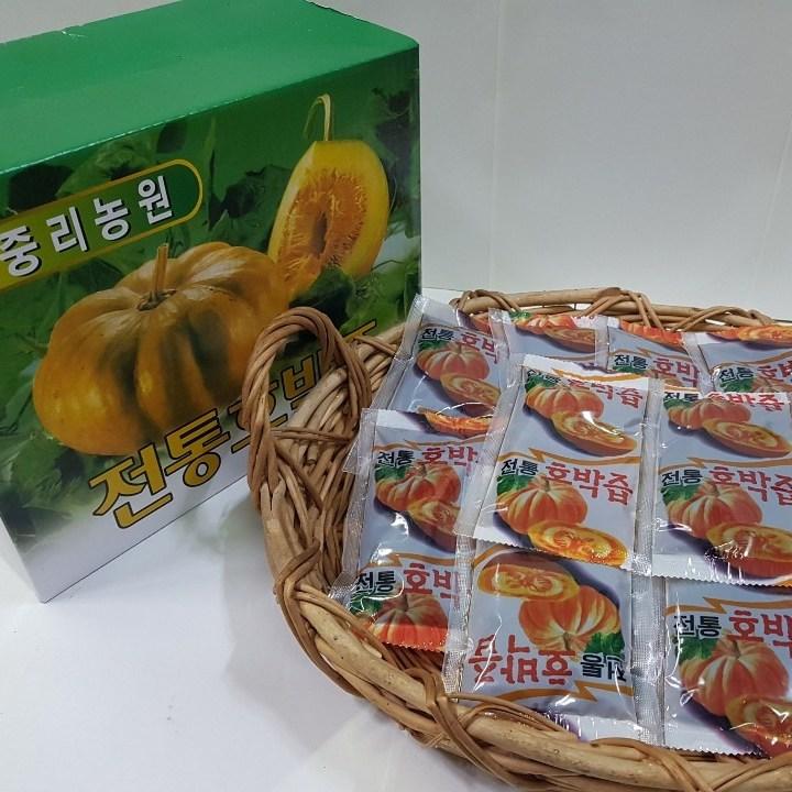 중리농원 전통 호박즙 50팩 (100ml) + 맛보기 사은품, 50팩 100ml, 1개