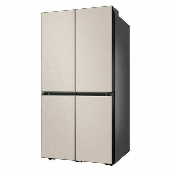 삼성 비스포크 냉장고 5도어(글라스) RF85T9203AP, 색상:글램화이트