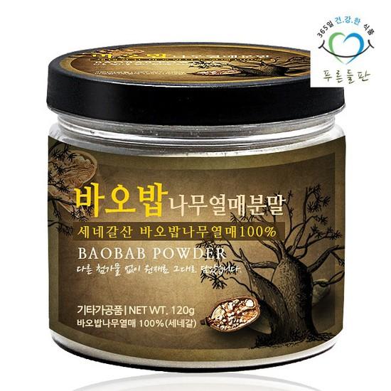 세네갈산 바오밥 나무 열매 분말 120g통 가루, 상세설명 참조, 없음