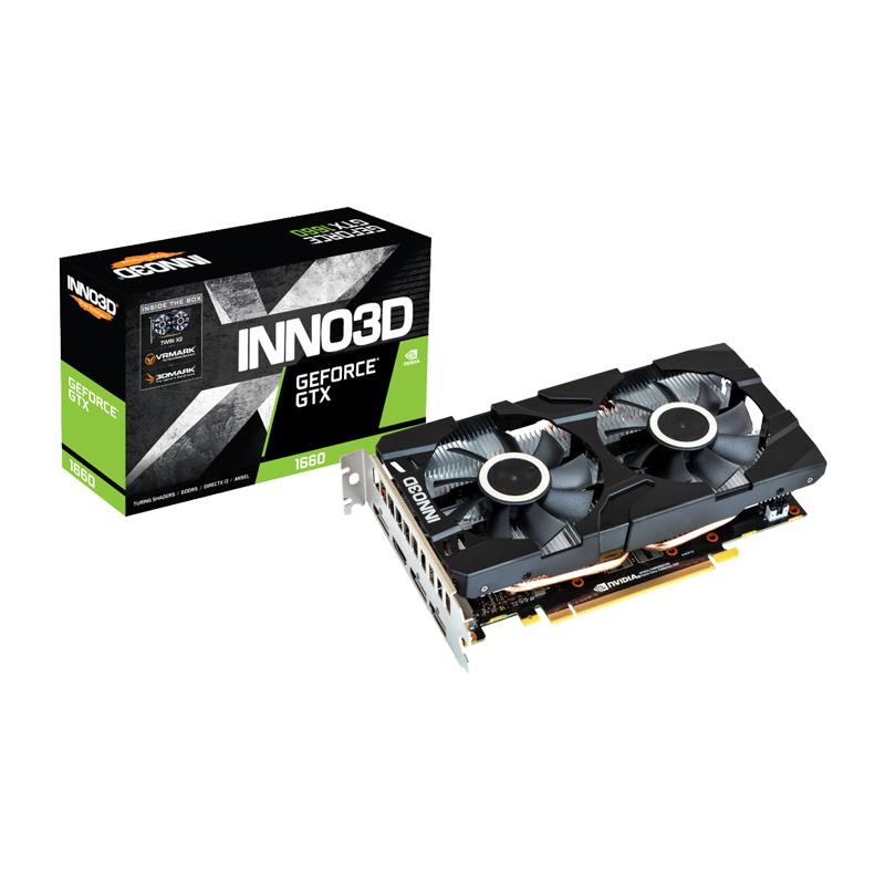 INNO3D 지포스 GTX 1660 D5 6GB X2, 기본모델