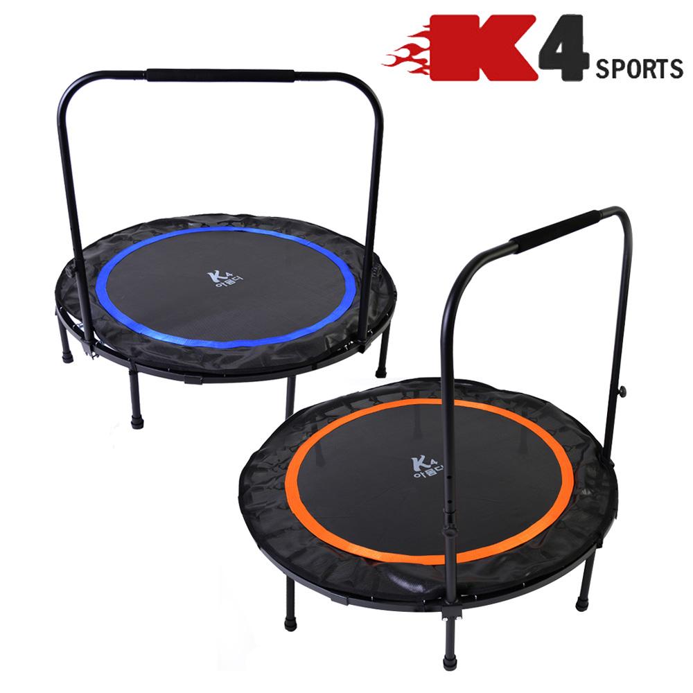 K4스포츠아몸디 K4-328 접이식원형 원터치 원형트램폴린 전신운동 방방이 점핑다이어트, 오렌지