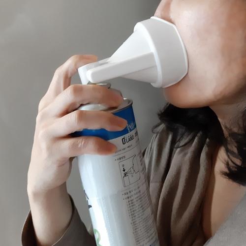 휴대용 가정용 마시는 산소캔 산소 마스크 호흡기 발생기 강아지 호흡 산소통 3통, 648ml x 3캔 (POP 5137581839)