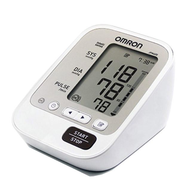 그랜드메디 오므론 일본생산 전자혈압계 JPN600 자동 가정용 AA건전지 4개포함 혈압계, 1개