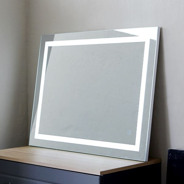 베스트리빙 [땡처리상품]우리집 화장대를 밝게 빛내주는 화장대 라인 LED거울(TM-12) 쥬얼리 거울, 기본