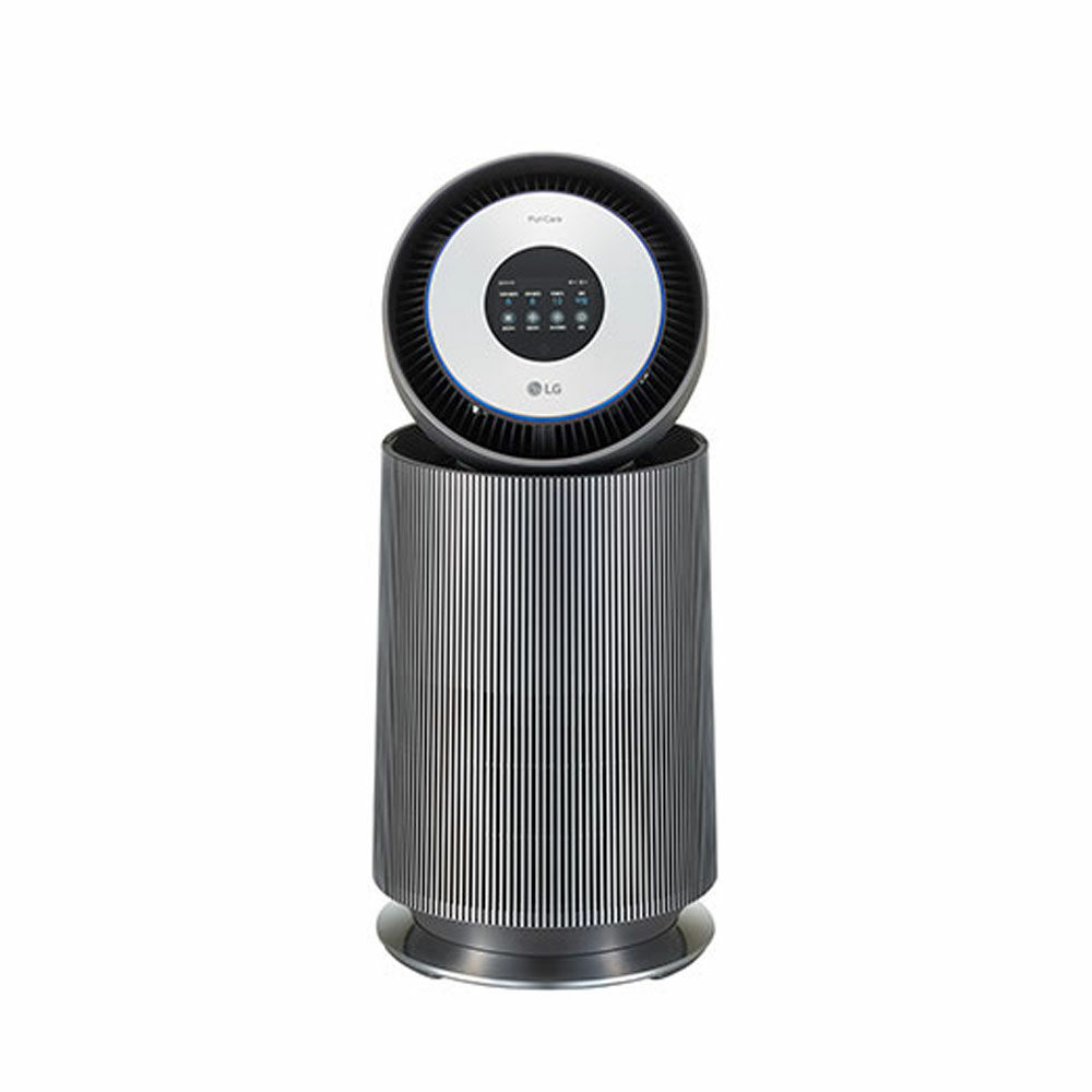 LG퓨리케어 공기청정기 알파 AS201NNFA 아이언그레이