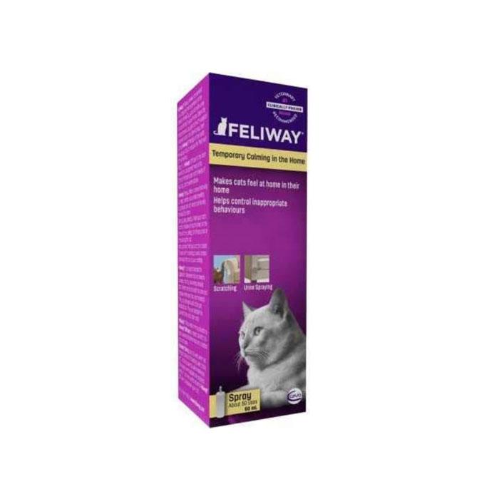 Ceva 세바 펠리웨이 스프레이 고양이 진정 스프레이 60ml