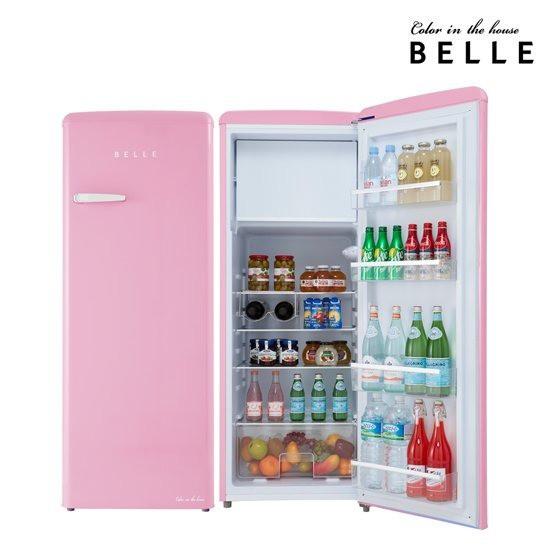 벨 레트로냉장고 RS24APK 핑크 240L 1등급 (POP 248835704)