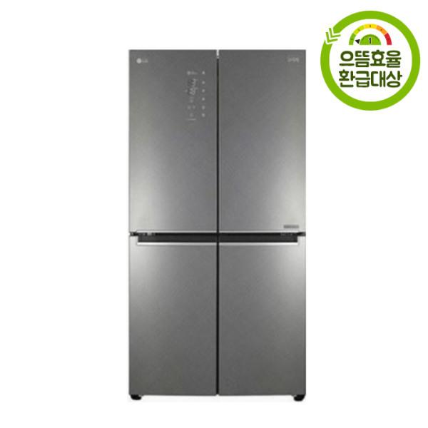 [LG전자] F873SN35E 매직스페이스 4도어 양문형 냉장고 870L, 상세 설명 참조