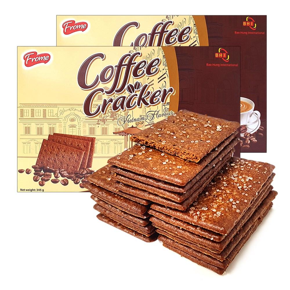 2박스(쿠키198입) 대용량 커피크래커, 단품, 상세설명 참조