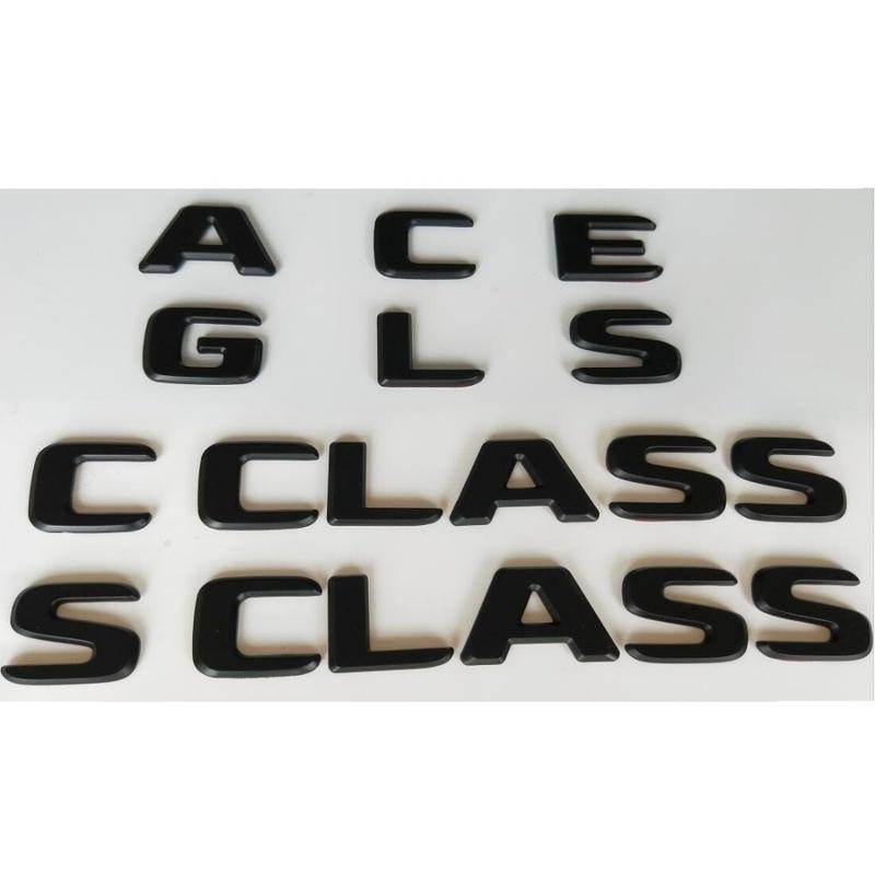 메르세데스 벤츠 AMG A B C E G M S GLA GLB GLC GLE GLS CLA CLS CL SL SLC ML V GL SLK CLK GLK CLASS에 대한 검은, 4MATIC (POP 5572867226)