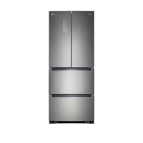 LG전자 스탠드형 디오스 김치톡톡 김치냉장고 K414S11 402L 방문설치
