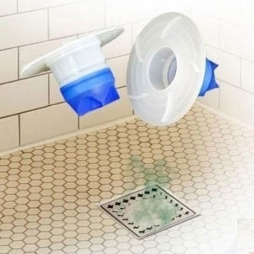 화장실 세탁실 하수구 냄새제거 배수구 트랩 덮개, 단일상품