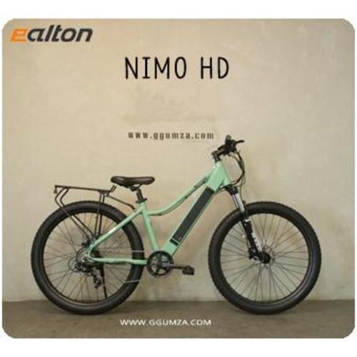 21년 알톤 27.5 니모HD 전동 / MTB 장거리 전기자전거 / 스로틀겸용 / 유압식 / 락아웃, 무료조립배송, 그린(매트카키) (POP 5509212939)