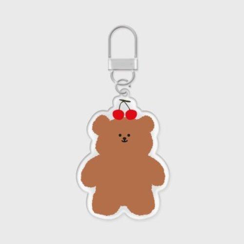 [텐바이텐] cherry slow bear 아크릴키링-15-1421909118