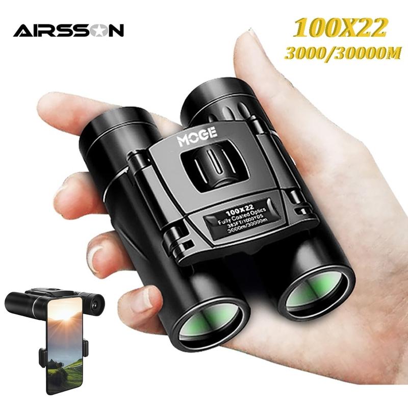 만원경 쌍안경 단망경 고배율 촬영 100X22 전문 30000M 고출력 HD 휴대용 용
