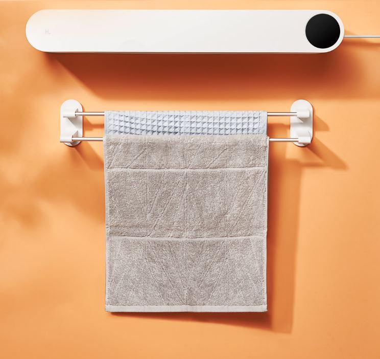 UV살균 수건살균기 살균소독기 의류 살균 화장실 욕실 살균, 화이트