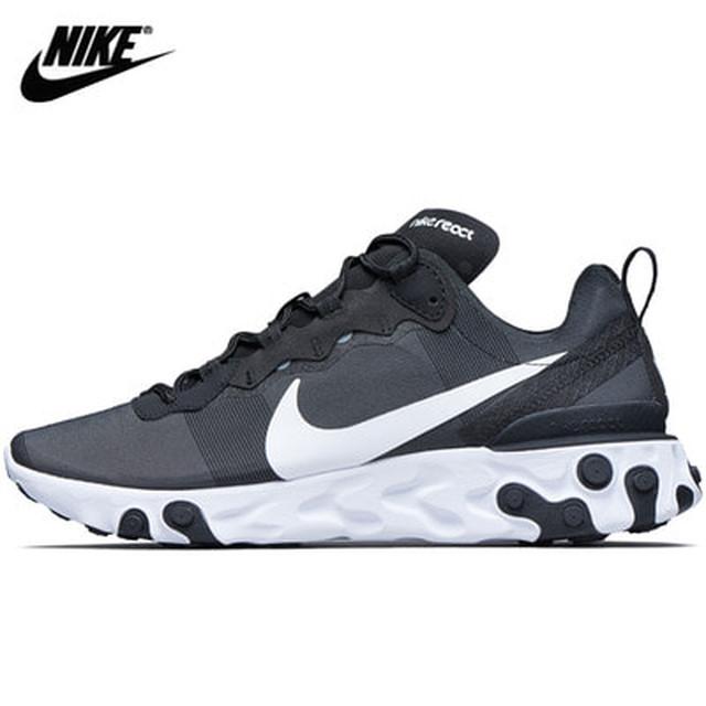 NIKE 나이키 맨 리액트 엘레멘트55 블랙 나코탭 정품 신발 BQ6166-003