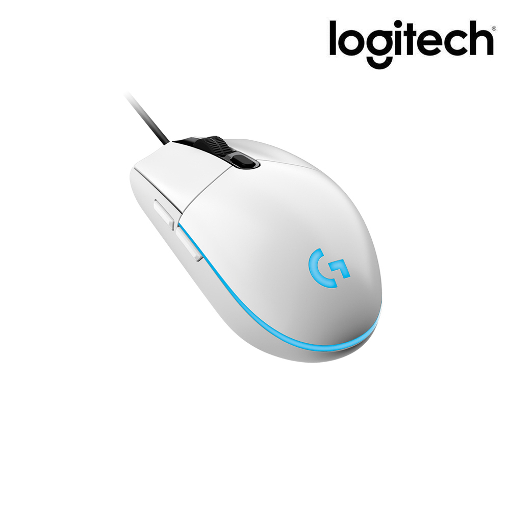 로지텍 Prodigy 유선 게이밍 마우스, 화이트, G102 벌크