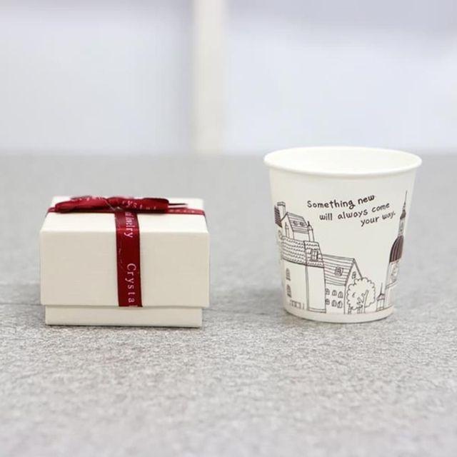 CPF082736쥬얼리 선물박스 베이지 상품권박스 선물케이스