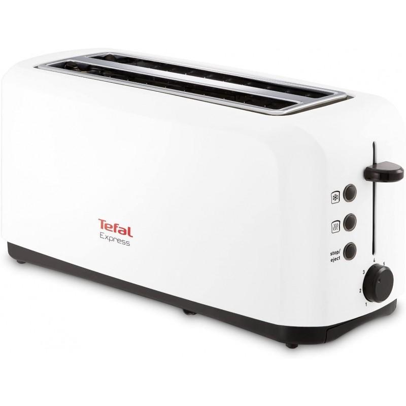 [독일] Tefal TL270101 빵 토스터 2 길이 흰색, 단일상품