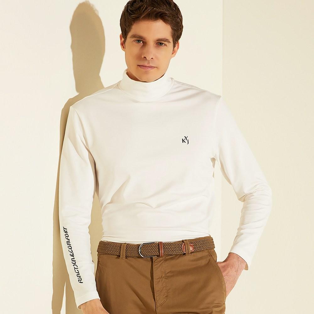 김영주골프 VAZO 남녀골프웨어 터틀넥 기모 티셔츠 골프 셔츠