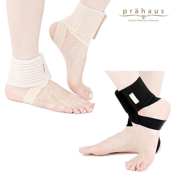 프라하우스 벨크로 조절 임산부 발목보호대 2개입 2color, 스킨