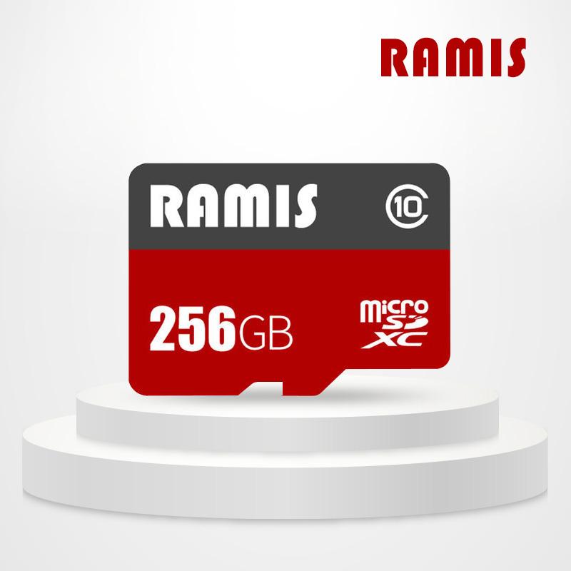 래미즈 마이크로SD카드256GB 메모리 CLASS10 블랙박스용 어댑터불포함, 256GB