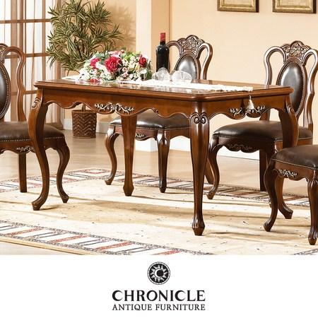 [멸치쇼핑]크로니클 엔틱가구 세라끄 4인식탁 테이블 CSC-6060, 상세페이지 참조