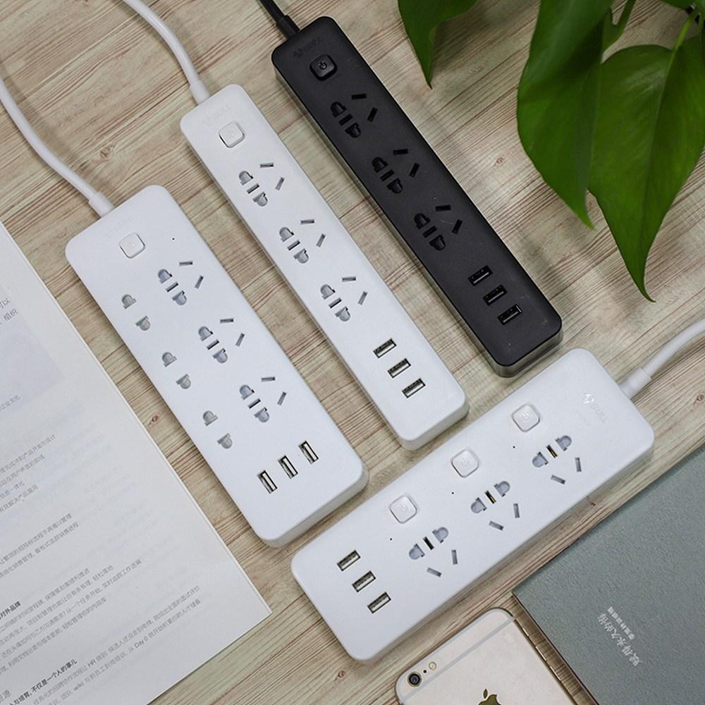 샤오미 USB 멀티탭 3구 4구 6구 스마트 콘센트 충전기 돼지코 아답타 ADAPTER, 10 (POP 5213164036)