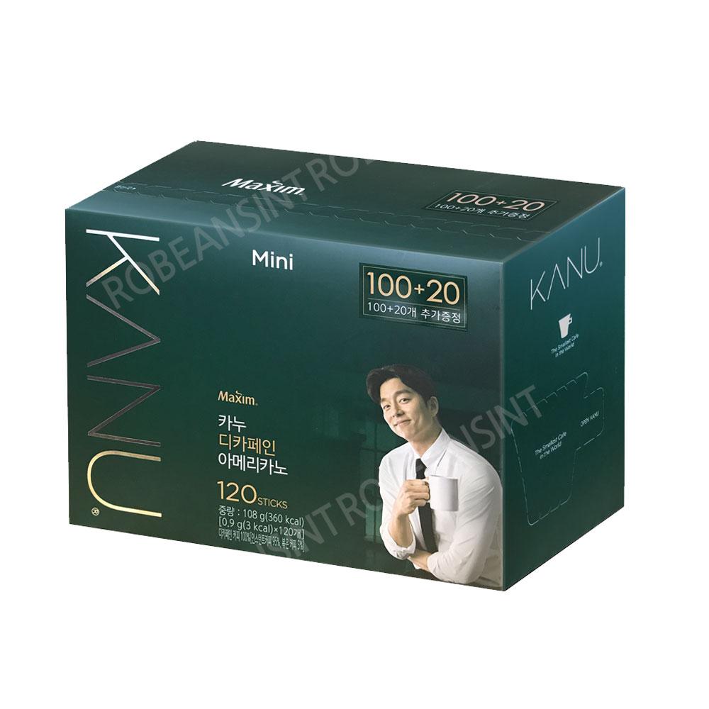 카누 미니 디카페인 100T+20T(추가증정)/노카페인