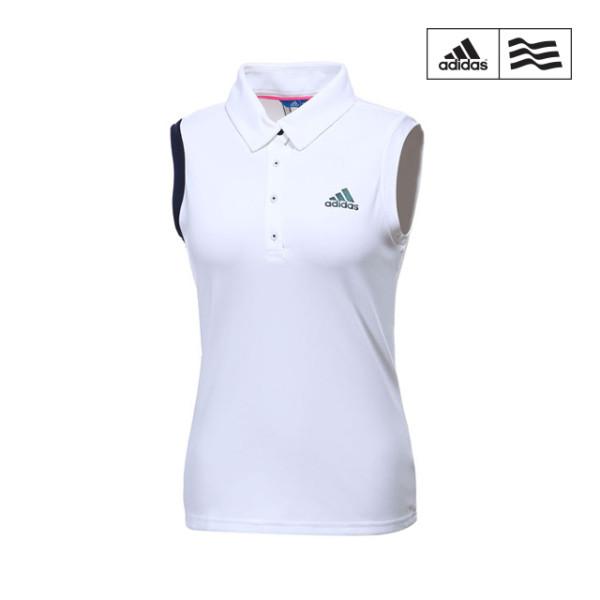 [아디다스 골프] [아디다스골프] 여성 아디크로스 클라이마쿨 민소매 티셔츠 CV8755_G, 선택:CV8755 / 사이즈:XS