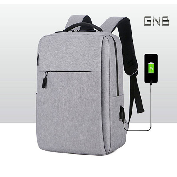 LG 그램 노트북 만능 백팩-가방(잠금장치), 그레이