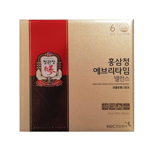 정관장 홍삼정 에브리타임 밸런스, 10ml, 210포
