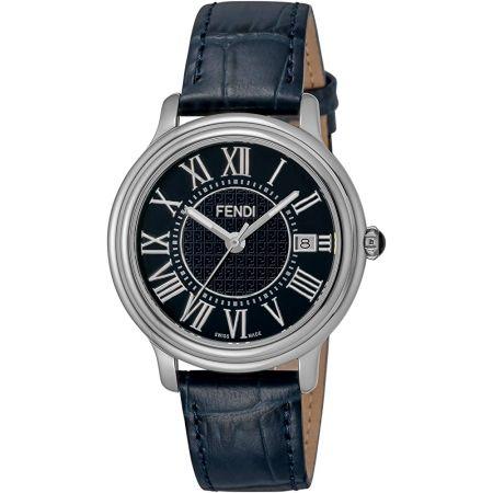 [펜디] 시계 CLASSICOROUNDMEN 네이비 문자판 F256013031 남성 병행 수입품 블루 9999993335952