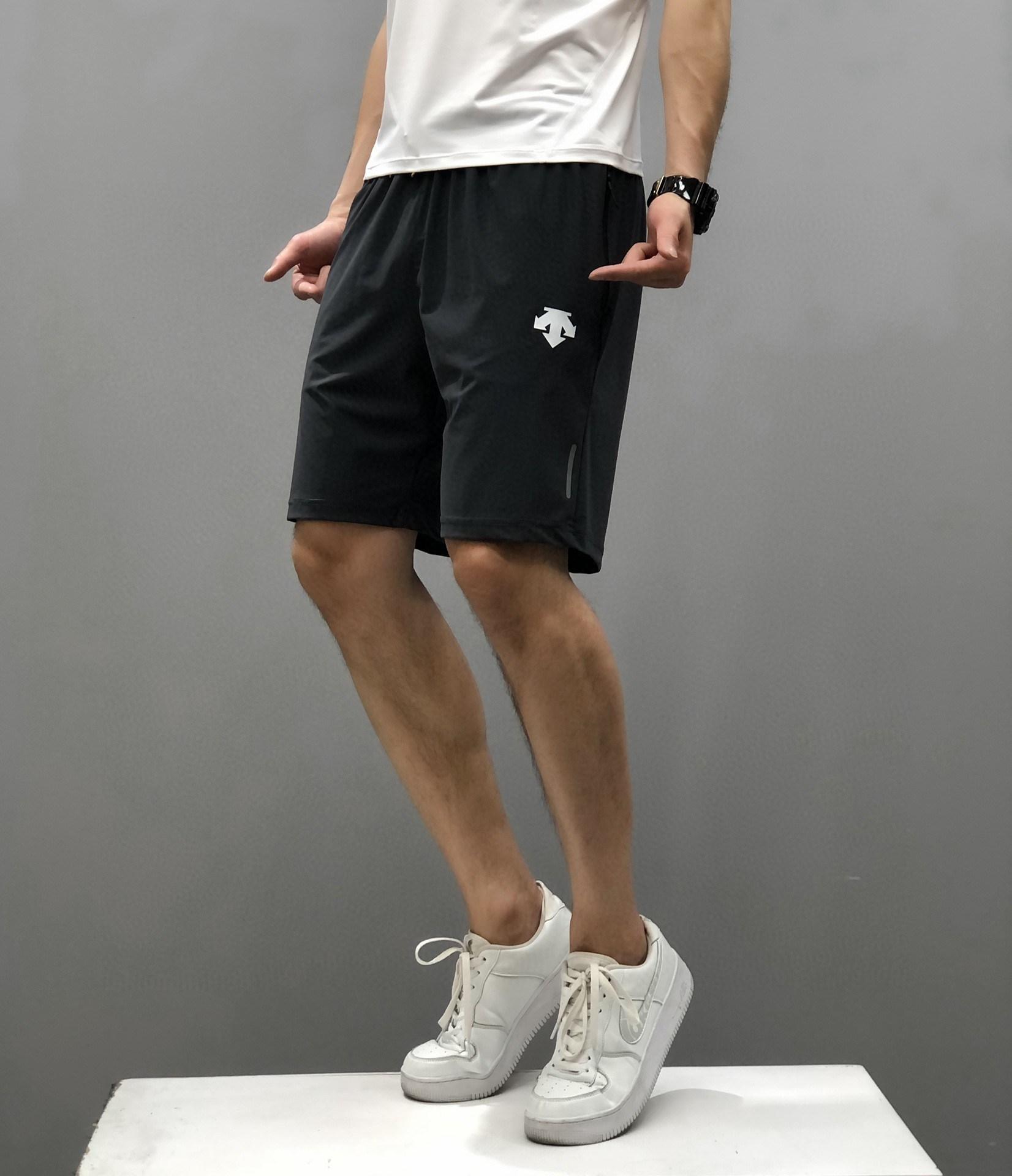 DESCENTE 디산트 2021 여름 RUNNING 남자 반바지 우븐 운동 캐주얼 드라이핏 달리기 반바지-2-5548378448