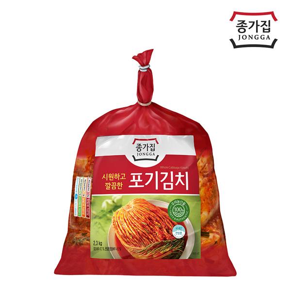 종가집 포기김치 2.3kg/ ~08시주문 새김치 당일출고~, 1개, 배추김치