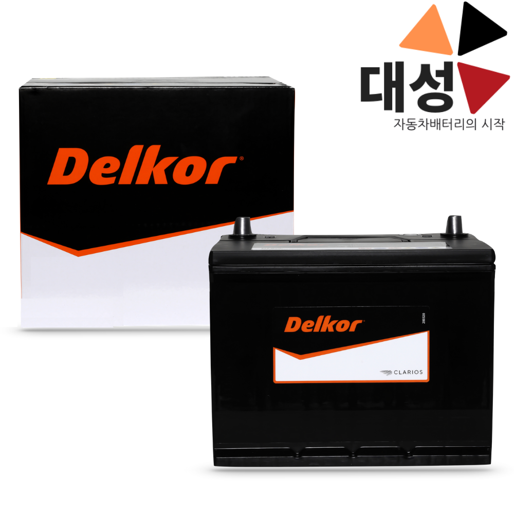 올란도 배터리 델코 DIN90L 자동차배터리 공구대여-반납, 델코DIN90L, 무료공구대여+폐배터리반납