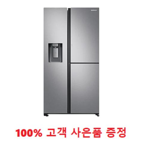 사은품증정/삼성 양문형 3도어 얼음정수기 냉장고 805L (RS80T5190SL) 1666-4175