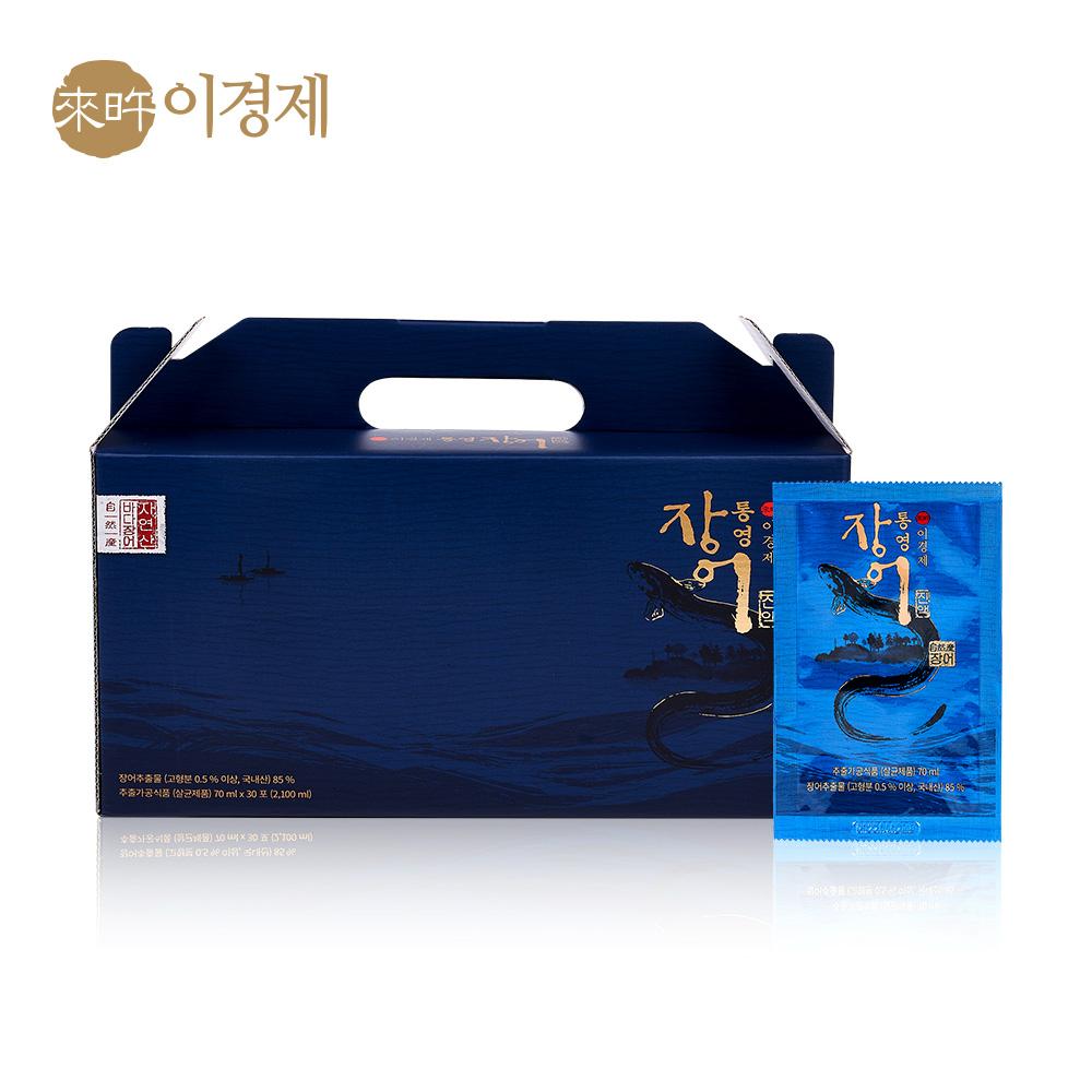 래오이경제 통영 장어 진액 70ml / 인포온 해피닥터, 30포