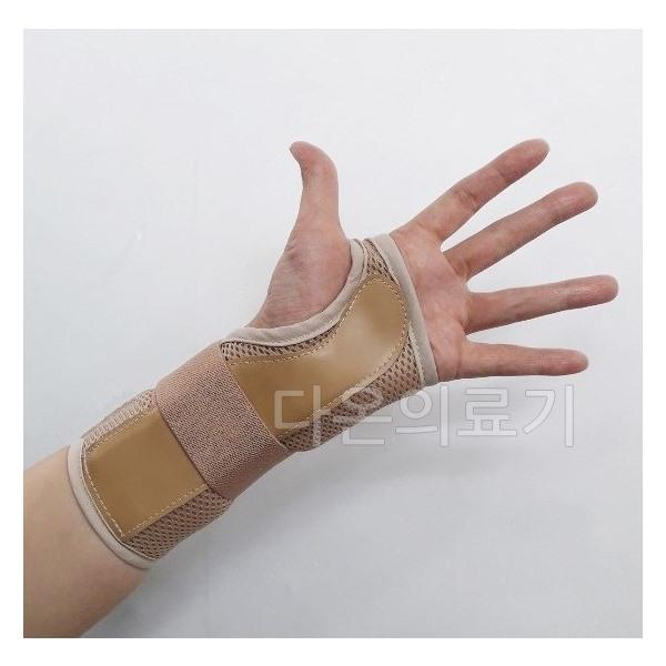 손목보호대 Wrist 에어메쉬보호대(사이즈선택 ), 우측_살색