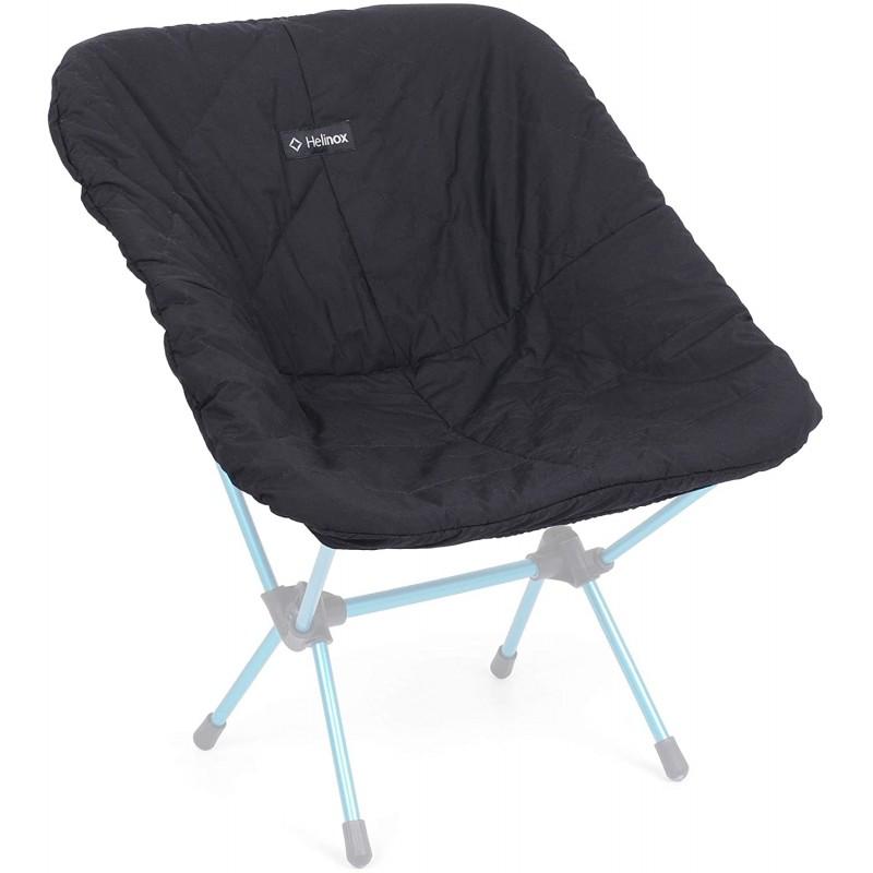 헬리녹스Helinox 따뜻함과 편안함을위한 합성 단열재가있는 Helinox 캠핑 의자 커버 블랙, 단일옵션