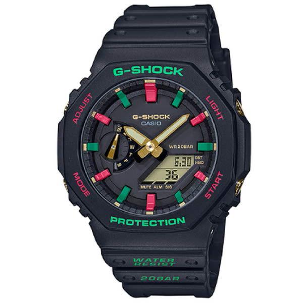 [현대백화점]G-SHOCK (윈터-프리미엄시리즈)(카본코어 가드구조) - GA-2100TH-1ADR