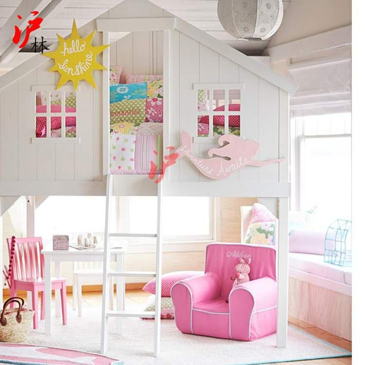 벙커침대 성인 어린이 이케아 미국 단단한 나무 어린이 높고 낮은 침대 이층 침대 트리 하우스 침대 로프트 침대 작은 아파트 로프트 침대 가구 사용자 정의, 다른, 2 층 트리 하우스, 더 많은 조합