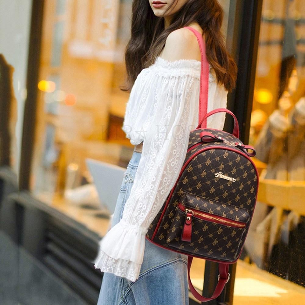 kirahosi 패션 백팩 심플 여자 스페셜 미니 가방 142호+덧신증정 Hkyt8hm