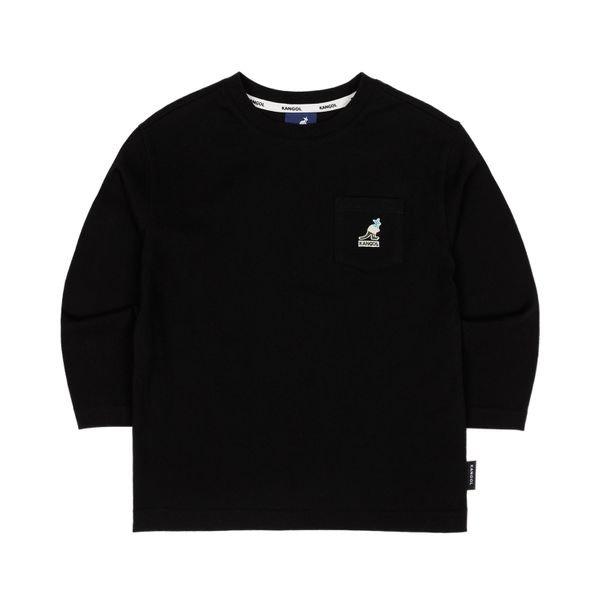 [갤러리아] 캉골키즈포켓 로고 티셔츠 0101 블랙