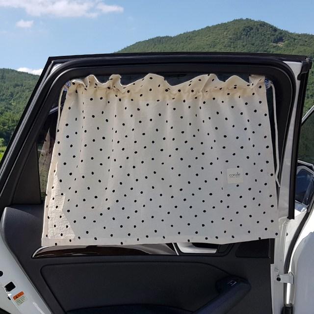 코롤베이비 12가지 차량용 햇빛가리개, 1개, 6.제이도트